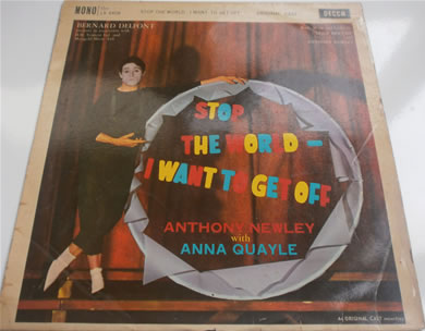 Stop the World I Want To Get Off MONO 1961 12 Inch Vinyl