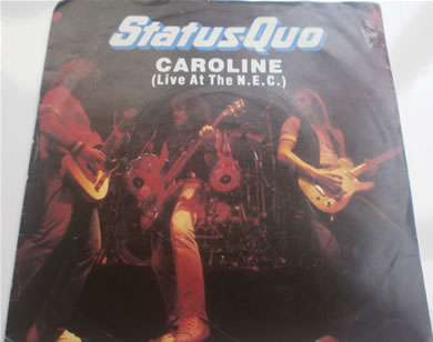 Status Quo - Caroline (live at the N.E.C) 7 Inch Vinyl