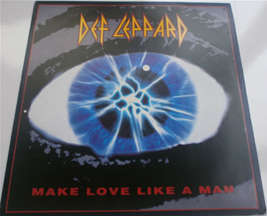 Def Leppard - Make Love Like A Man 7 Inch Vinyl