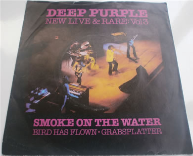 Deep Purple - New Live & Rare Vol 3 SHEP101 1980 7 Inch Vinyl