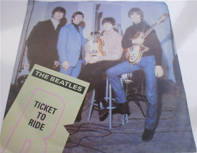 The Beatles - Ticket to Ride R5265 7 Inch Vinyl