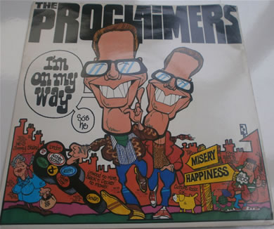 The Proclaimers - Im On My Way 7 Inch Vinyl