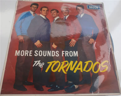 The Tornados - More Sounds From The Tornados DFE8521 mono 7 Inch Vinyl