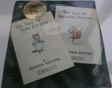 The Tales Of Beatrix Potter - The Tale Of Squirrel Nutkin/The Tale Of Tom Kitten EP6347 7 Inch Vinyl
