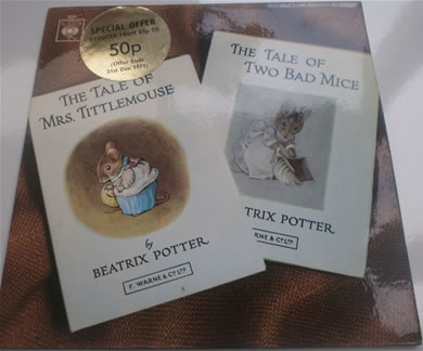 The Tales Of Beatrix Potter - The Tale Of Mrs Tittlemouse/The Tale Of Two Bad Mice EP6351 7 Inch Vinyl