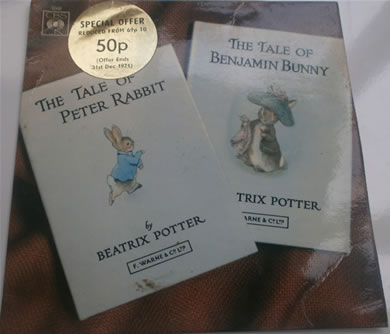 The Tales Of Beatrix Potter - The Tale Of Peter Rabbit/The Tale Of Benjamin Bunny EP6348 7 Inch Vinyl