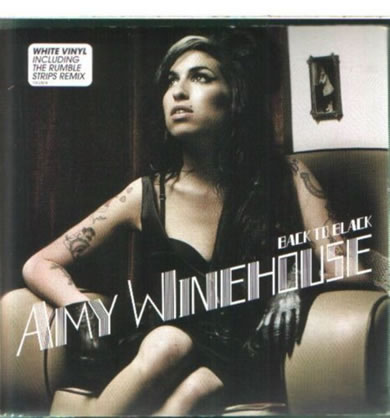 Amy Winehouse - Back To Black 7 inch vinyl